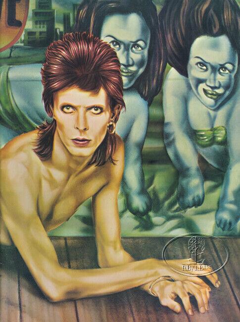 DAVID BOWIE 1974 DIAMOND DOGS Tour Concert Program Tour Book