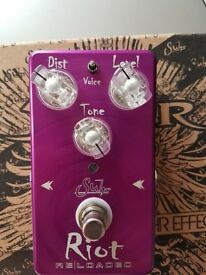 Suhr Riot Reloaded Distortion pedal - Immaculate, unused