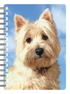 West Highland Terrier 3D Notebook Westie