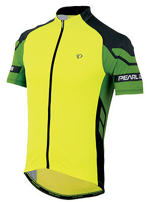 Pearl Izumi Elite Bicicleta Maillot de Ciclismo Gritando Amarillo / Verde Flash