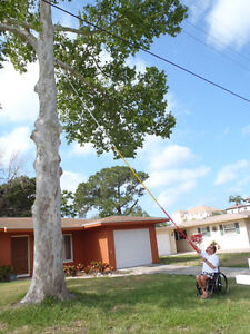 27 FOOT POLE SAW Tree Trimmer Saw Tree Pruner Tree Saw