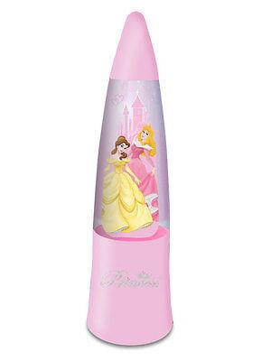 Origin. Disney Princess Glitter Glitzernde LED Lampe 15 cm Neu Leucht in 3Farben