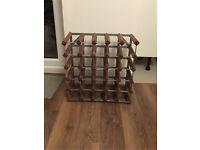 Wine rack storage 25-30 bottles 5x5