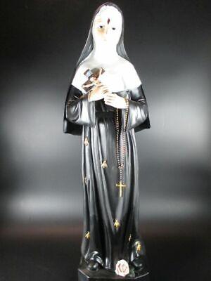 Holy Rita, 60cm! Statue Poly Figurine Holy Statue Religion, Articles Religiosi