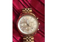 MICHAEL KORS GOLD COLOUR WATCH SUPERB LOOKING WATCH IMMACULATE CONDITION