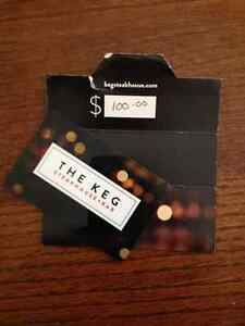 Gift Card from THE KEG