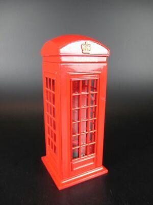 Londres Cabina Teléfono Box Hucha Money Box , Metal, 14,5 CM, Nuevo
