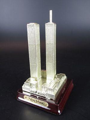 """New York World Trade Center WTC """"Alt"""" 10 cm Poly Modell USA Amerika Souvenir"""