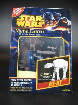Star Wars AT-AT ATAT 3D Metall Puzzle Modell Laser Cut Bausatz,NEU
