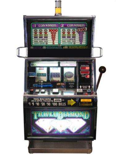 IGT S2000 Triple Diamond Slot Machine For Sale