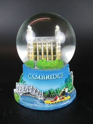 Cambridge Schneekugel Snowglobe 9cm,Souvenir Großbritannien England