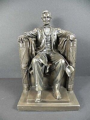 Abraham Lincoln, USA President, 23 cm Bronzed Figure, Veronese collection