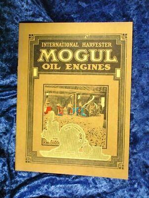 Ihc International Mogul Hit Miss Gas Engine 32 Page Catalog