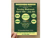 Arabic & Quran Madrasah