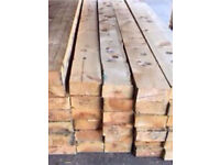 "Timber joists 9ft x 7"" x 3"""