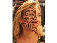 *** FACE PAINTER AVAILABLE FOR ALL PARTIES ~ CHRISTMAS *** TRAINED PROFESSIONAL FACEPAINTING