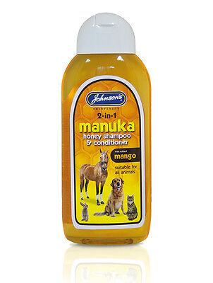 Johnsons Manuka Honey Dog Shampoo 200ml