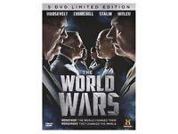 WORLD WAR 1 & 2 DVD'S
