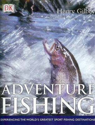 sale retailer 84adc 57e2f GILBEY HENRY ANGLING BOOK ADVENTURE FISHING TROUT PIKE SHARKS TRAVEL  hrdback NEW