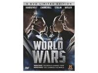 WORLD WAR 1 & 2 DVD'S (15 IN TOTAL)