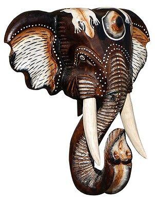 nd Maske Elefant Holz Bali Maske48.40 (Elefant Maske)