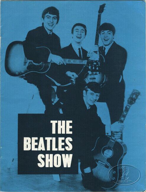 BEATLES 1963 UK Tour Concert Program Tour Book Gaumont Bournemouth