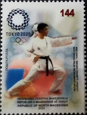 MACEDONIA NORTH 2020 - SUMMER OLIMPIC GAMES TOKYO 2020 MNH