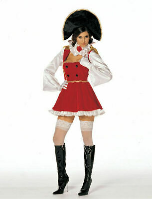 Nasty Napoleon Sexy Women Costume Cosplay Shirley of Hollywood USA NEW S/M, M/L (Hollywood Usa Kostüme)