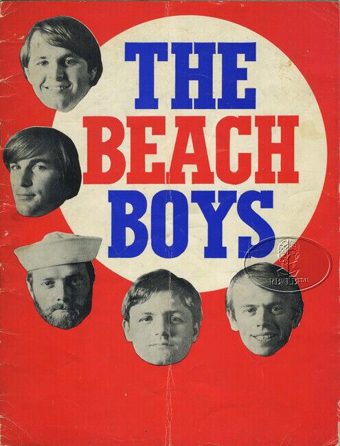 BEACH BOYS 1967 SMILEY SMILE Tour Concert Program Tour Book