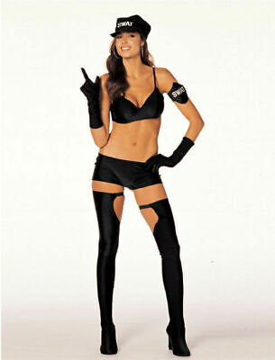 NEW Shirley of Hollywood 7472 Sexy Wanna Swat Costume Police Cosplay Last M/L