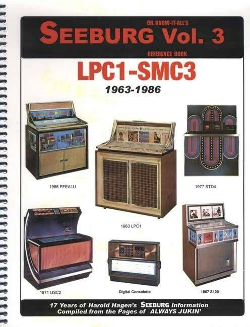 Dr. Know-It-Alls Seeburg LPC1-SMC3 Vol. 3Reference Book