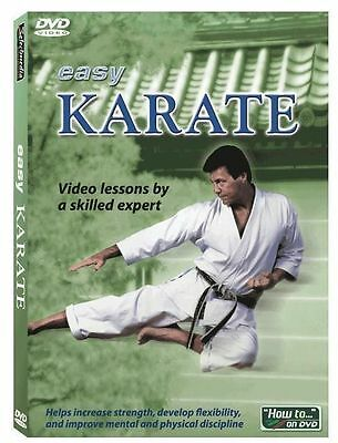 LEARN KARATE   Instructional Video DVD  Brand New Sealed