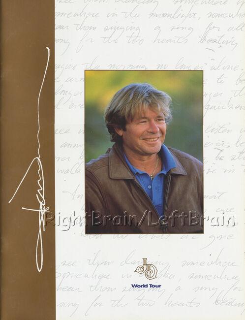 JOHN DENVER 1997 FINAL TOUR Concert Program Tour Book