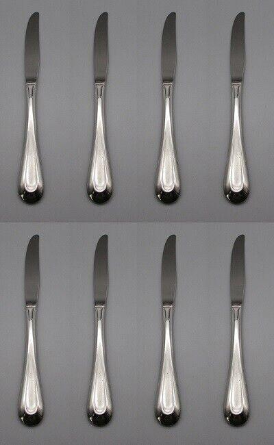 Oneida Silverplate SILVER VALENTINE 1973 Dinner Knives SET OF TWELVE