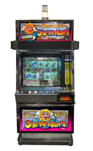 IGT Super Sallys ShrimpMania Video Machine