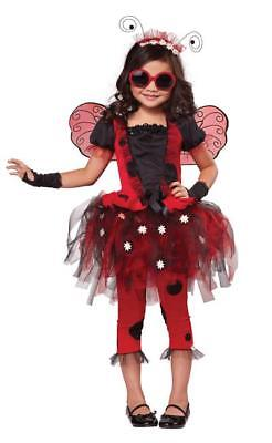 Lovely Lady Bug Kostüme (Lovely Ladybug Fairy Child Costume Medium 8-10)
