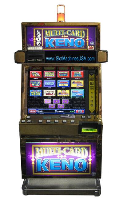 Igt Slot Machine All 9 On Displays