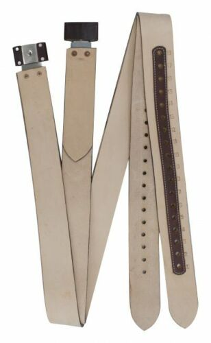 """Showman Replacement WESTERN Stirrup Leathers 2.5"""" Wide x 1/4"""" Thick"""