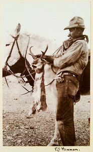 1922-Photograph-Album-MEXICO-ARIZONA-Wild-Game-Hunting-AMBROSE-MEANS