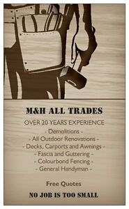 M&H All Trades - Handyman Calwell Tuggeranong Preview