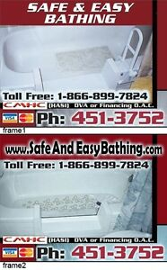 WalkIn Tub DIY(do it yourself) for $395.00