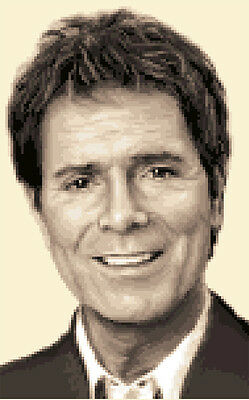 CLIFF RICHARD - complete counted cross stitch sewing kit