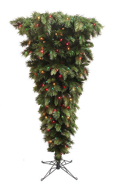 How to Decorate an Upside Down Christmas Tree