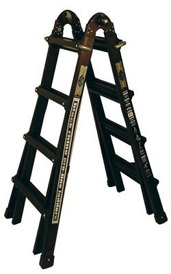 17 1a Black Rhino Pro Line Ladder - Made By Little Giant - New