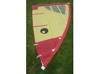 Windsurf Sail Yellow & Red