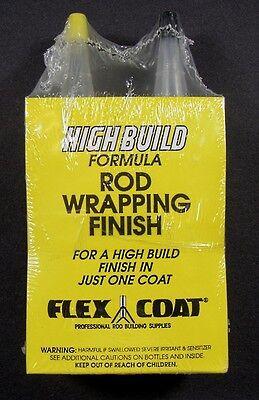 Flex Coat 4oz Rod Finish w/Yorker Caps-Hi Build