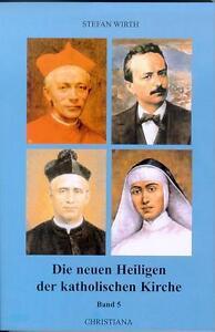 STEFAN WIRTH - NEUE HEILIGE DER KATHOLISCHEN KIRCHE