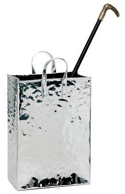 Portaombrelli in acciaio inox a forma di borsetta e portabastoni h tot cm 59 ebay - Portaombrelli design originale ...