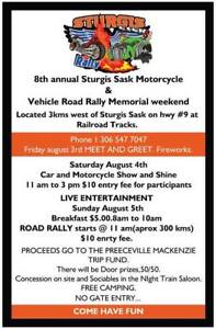 Sturgis Sask Charity Road Rally