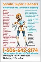 Cleaning service available this week!